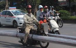 Xe ba gác, xe tự chế vẫn tung hoành đường phố Hà Nội