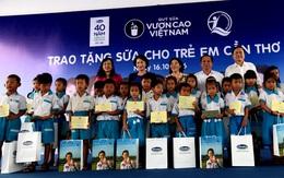 """""""Để mọi trẻ em đều có quyền uống sữa"""", Quỹ sữa Vươn cao Việt Nam và Vinamilk tiếp tục trao tặng sữa cho trẻ em tại Cần Thơ"""