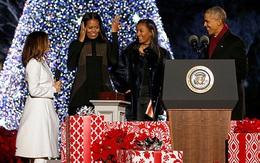 Nhà Obama mừng Giáng sinh lần cuối ở Nhà Trắng