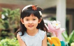 Á hậu Thùy Dung khoe ảnh thời thơ ấu