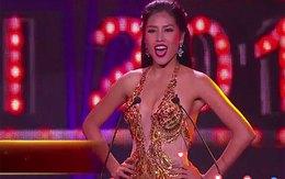 """Nguyễn Thị Loan """"đốt mắt"""" với  bikini ở đêm bán kết Miss Grand International"""