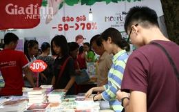 Hàng nghìn đầu sách giảm giá khủng tại Hội sách Mùa thu 2016