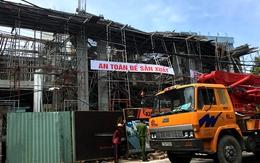 Sập sàn bêtông công trình biệt thự, 2 phụ nữ tử vong