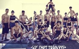 Độc đáo bộ ảnh kỷ yếu theo phong cách gym
