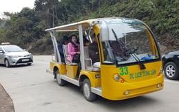 Quảng Ninh chỉ đạo xử lý vụ xe điện không đăng kiểm vẫn chở khách ở Yên Tử