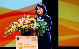 Phó Chủ tịch nước: Quan hệ hợp tác giữa Việt Nam và Quỹ Dân số Liên Hợp Quốc rất quan trọng trong chương trình DS-KHHGĐ của Việt Nam