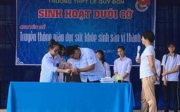 THPT Lê Quý Đôn (Hải Phòng): Đẩy mạnh chăm sóc sức khỏe sinh sản cho vị thành niên.