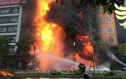 Tin mới nhất về vụ cháy quán karaoke làm 13 người chết ở phố Trần Thái Tông (Cầu Giấy - Hà Nội)
