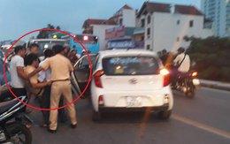 Thanh niên đâm xe vào CSGT Hà Nội đã ra trình diện