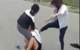 Xác minh clip nữ sinh bị đánh hội đồng, thanh niên đứng xem quay clip