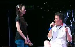 Sau khi công khai tình yêu với Hoài Linh, Hà My tập nhạc cùng Mr. Đàm