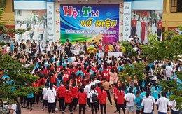 Hải Phòng: Hàng trăm học sinh trổ tài khiêu vũ đón chào năm học mới