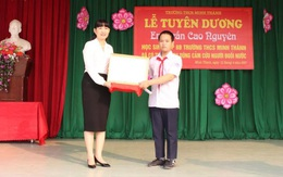Quảng Ninh: Học sinh lớp 8 cứu sống học sinh lớp 1 bị nước cuốn trôi