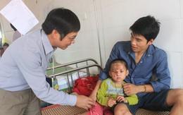 Điều trị miễn phí cho một bệnh nhi người Lào bị bỏng nặng