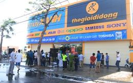 Đà Nẵng: Cháy siêu thị Điện Máy Xanh lúc rạng sáng