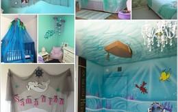 10 kiểu trang trí tuyệt đẹp cho phòng bé lấy cảm hứng từ biển