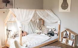 Nếu có con gái, nhất định ba mẹ nên trang trí phòng cho bé đẹp thế này