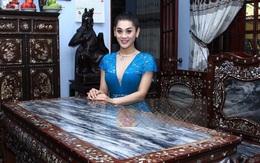 Ca sĩ chuyển giới Lâm Chi Khanh bình yên trong căn biệt thự đắt giá to nhất Q.9