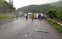 Lạng Sơn: 2 ô tô đâm trực diện, nhiều người thương vong