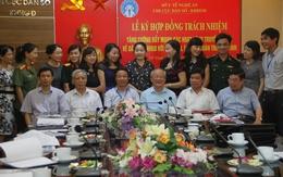Nghệ An: Ngành dân số ký kết hợp đồng trách nhiệm với 19 ban, ngành, đoàn thể