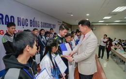 600 suất học bổng cho học sinh nghèo vượt khó và có thành tích học tập tốt