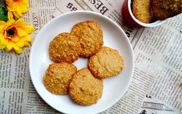 Bánh đậu phộng nướng thơm giòn cho ngày Tết