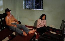 Vừa vật vã diễn cảnh bị cưỡng hiếp, Mỹ Duyên đã cười ngặt nghẽo