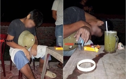 Phú Thọ: Đến quán gọi cốc nước mía chưa kịp uống, người đàn ông đột tử trong tư thế ngồi