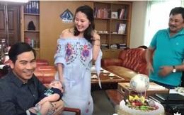 Ngọc Lan tổ chức sinh nhật bất ngờ cho Thanh Bình ở trường quay