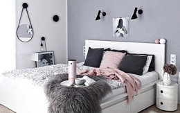 Những mẫu phòng ngủ mùa đông nhìn là thấy ấm