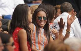 Con gái út nhà ông Obama không tham dự bài phát biểu chia tay của cha vì bận thi cử