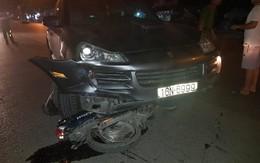 """Hải Phòng: Xe """"điên"""" Porsche đâm liên hoàn làm 7 người bị thương nặng"""