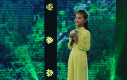 Cô bé 13 tuổi hát dân ca Hà Tĩnh khiến NSND Thu Hiền mê mẩn