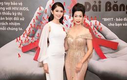 Á hậu Thùy Dung đọ sắc cùng NSƯT Trịnh Kim Chi, MC Trác Thuý Miêu