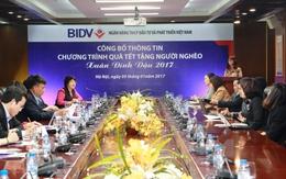 """BIDV tặng đồng bào nghèo 24.000 phần quà trong chương trình """"Tết sẻ chia, Xuân ấm áp"""""""