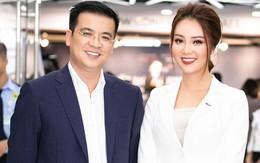 BTV Quang Minh bất ngờ xuất hiện phong độ bên Á hậu Thụy Vân