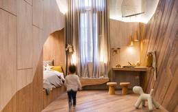 Phòng của bé có nội thất lấy cảm hứng từ hang gấu ngủ đông