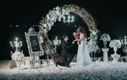 Ưng Hoàng Phúc trao nhẫn tiền tỷ khi cầu hôn Kim Cương bên bờ biển
