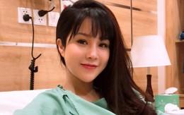 Diệp Lâm Anh vẫn cực kì xinh đẹp và rạng rỡ sau khi vượt cạn sinh con gái