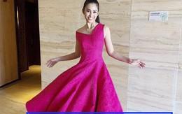 Hoa hậu Tiểu Vy chỉnh ảnh thi Miss World đến méo sàn nhà