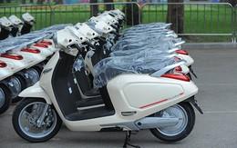 Hình ảnh thực tế xe máy điện của Vinfast trước giờ mở bán