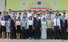 Lễ khai giảng khóa IV chương trình đào tạo cán bộ lãnh đạo, quản lý  ngành Y tế Việt Nam