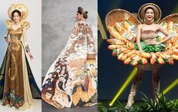 """""""Đọ"""" trang phục dân tộc của H'Hen Niê với các người đẹp Việt tại đấu trường nhan sắc 2018"""