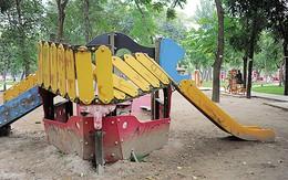 Nhiều trò chơi trong Công viên Thống Nhất xuống cấp trầm trọng