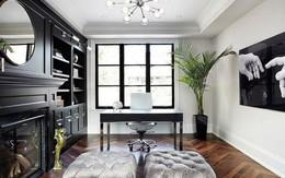 Cách thiết kế nội thất màu đen tuyệt đẹp cho người thích màu tối