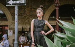 Minh Tú khoe thần thái 'sang chảnh' ở Melbourne