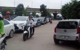"""Giải tỏa bãi trông xe """"lậu"""" ở Hoàng Mai, Hà Nội: Hàng nghìn chủ xe """"méo mặt"""""""