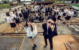 Học sinh trung học chi tiền triệu chụp ảnh kỷ yếu