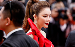 """Lý Nhã Kỳ làm """"công chúa lọ lem"""" Cinderella ở thảm đỏ liên hoan phim Cannes"""