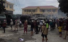 Khởi tố 8 đối tượng kích động người dân gây rối, tấn công cảnh sát ở Bình Thuận
